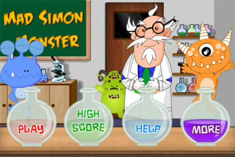 Mad Simon And Monsters