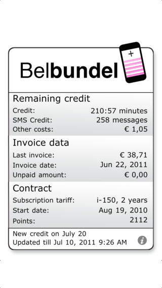 Belbundel iPhone Screenshot 1