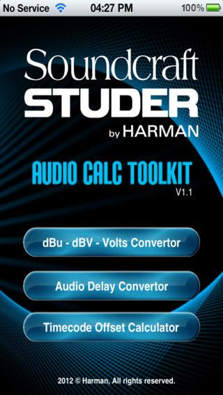 Audio Calc Toolkit