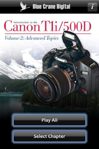 Introduction to the Canon T1i 500D - Advanced Topics