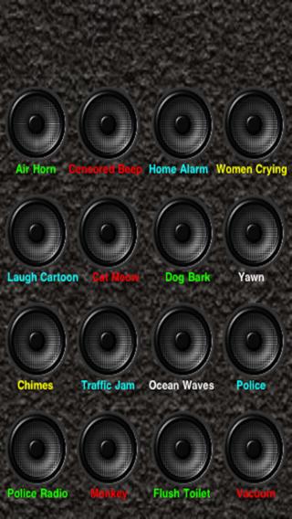 Sound Effect iPhone Screenshot 1