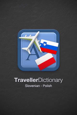 Traveller Dictionary and Phrasebook Slovenian - Polish