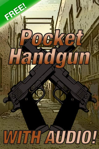 Pocket Handgun FREE iPhone Screenshot 1