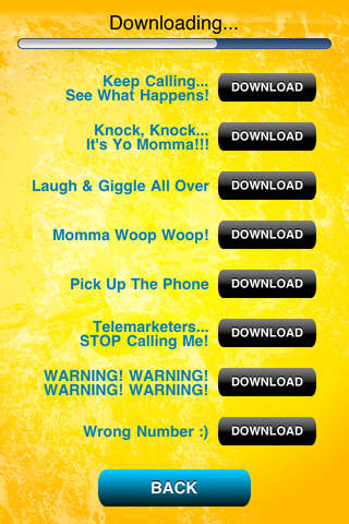 Ringtones Comedy Pro iPhone Screenshot 4