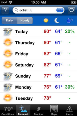 My-Cast Weather Radar screenshot 3