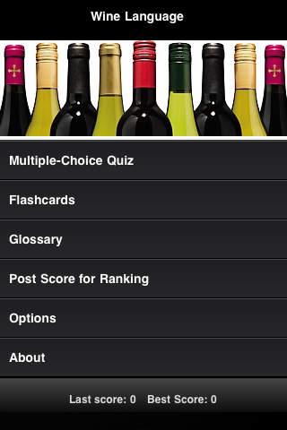 Wine Language Pocket Guide