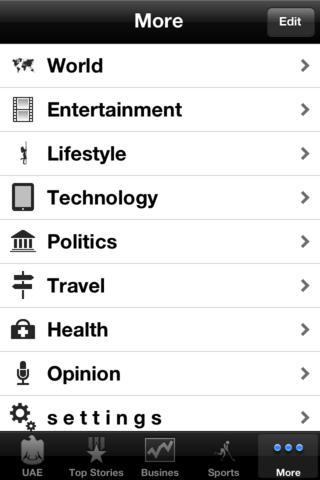 UAE News, 24/7 e Paper iPhone Screenshot 5