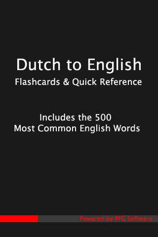 500 Dutch Flashcards