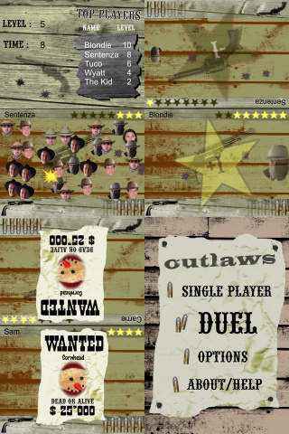 Outlaws : the DUEL iPhone Screenshot 2