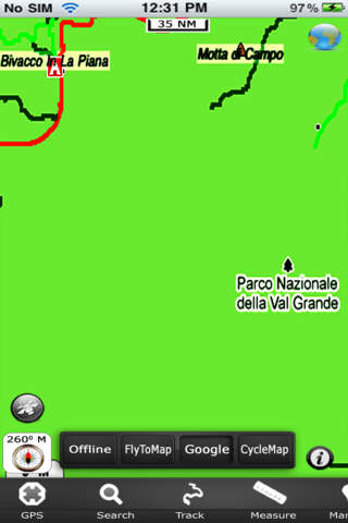 Val Grande National Park - GPS Map Navigator