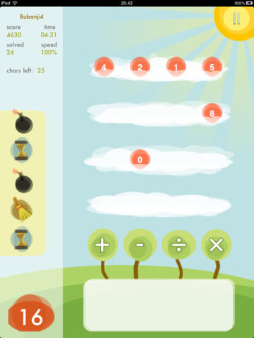 Sky Numbers HD screenshot