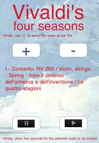 Vivaldi's 4 seasons