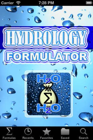 Hydrology Formulator screenshot 3