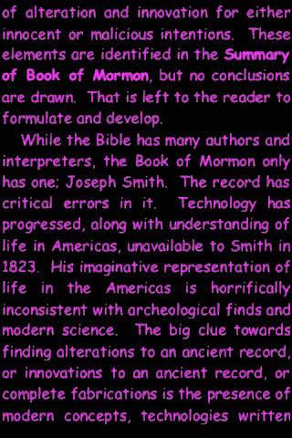 Summary Book of Mormon (part III)