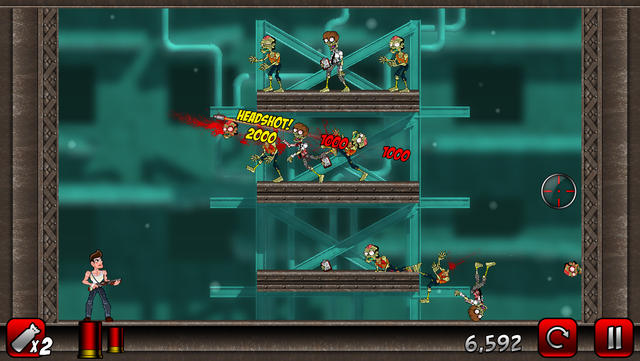 Stupid Zombies 2 Free - iPhone Mobile Analytics and App Store Data