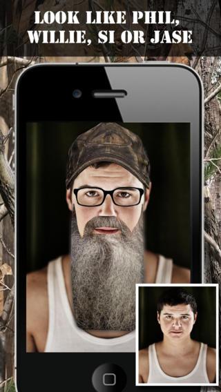 Beard Dynasty - Beard Duck Fun Stickers