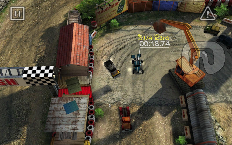 狂野赛车 Reckless Racing for Mac