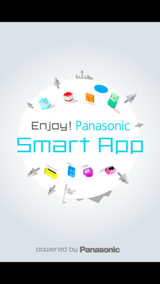 Enjoy Panasonic Smart App