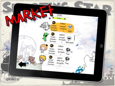 Sticker Shooting Star 2 Lite iPad Screenshot 2