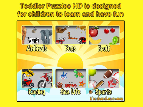 Toddler Puzzles HD