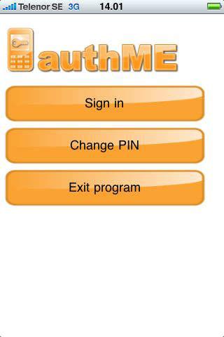 authME iPhone Screenshot 1