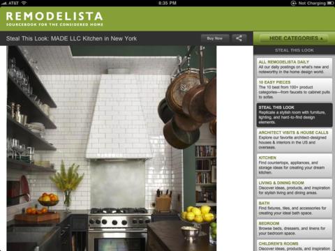 Remodelista Lite iPad Screenshot 2