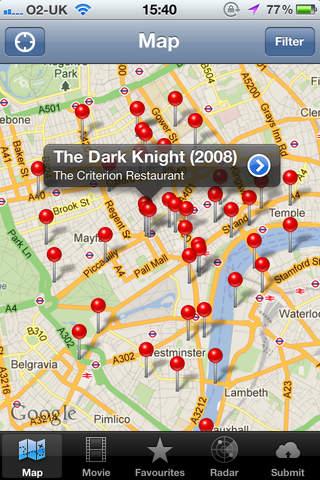 Movie Map London