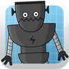 Robot Puzzle Factory for kids and toddlers by Happy Grizzly icon