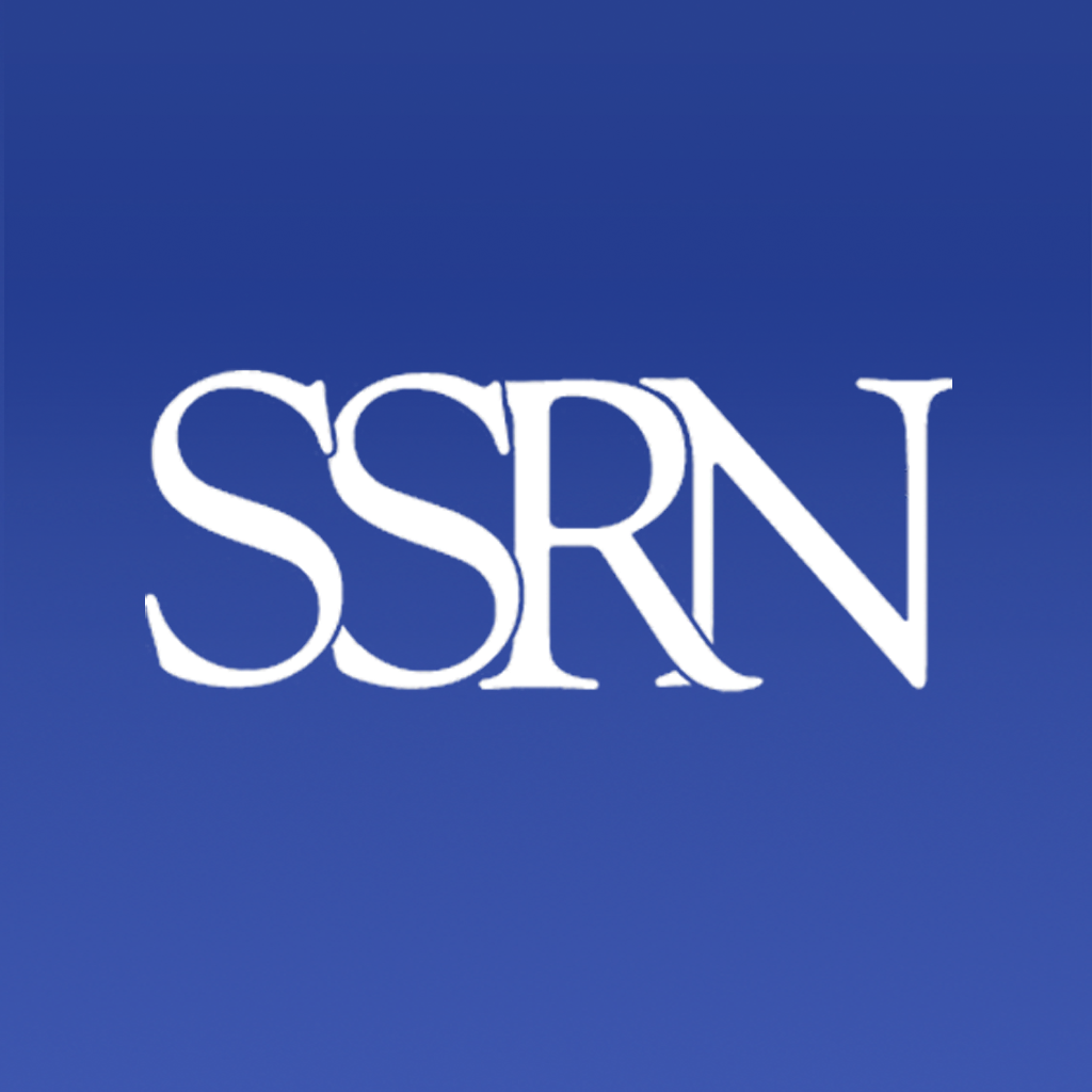 Connect with or follow me SSRN