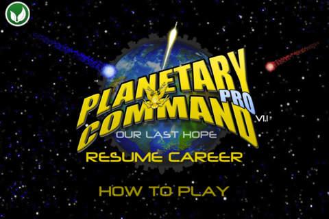 Planetary Command Pro