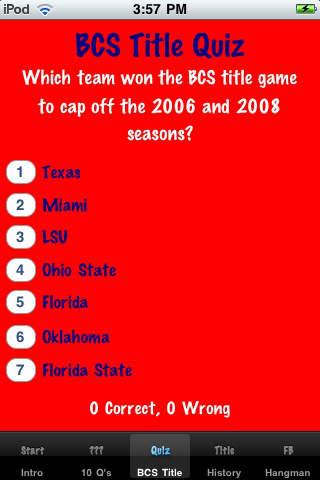 Football Trivia! iPhone Screenshot 3