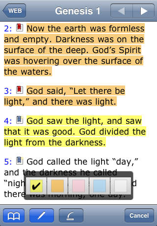 NASB for Bibles2GO screenshot 2