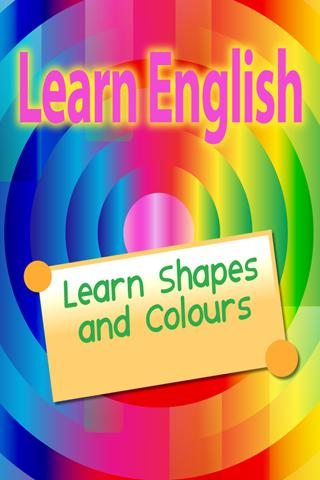Learn English - Shapes And Colours