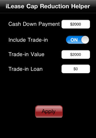 iLeaseMyCar Loan and Lease Payment Calculator