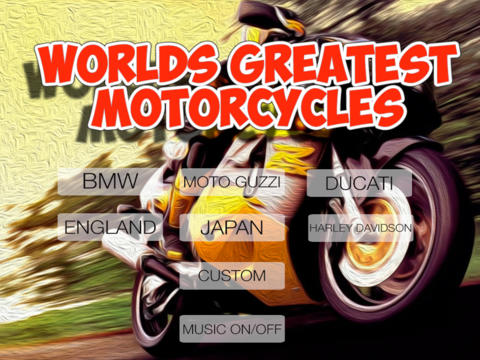 Worlds Greatest Motorcycles
