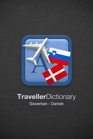 Traveller Dictionary and Phrasebook Slovenian - Danish
