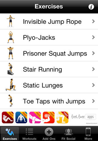 Cardio Workouts Free