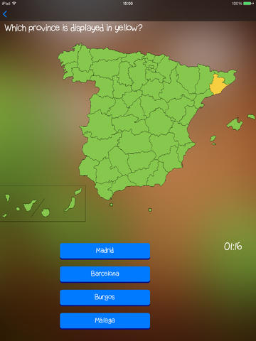 TopoTrainer Spain - Geography for everyone