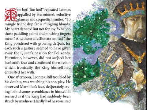 The Winter's Tale based on W. Shakespeare's Tale