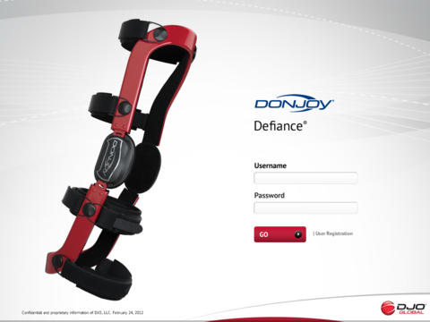 DonJoy Custom Knee Brace Builder