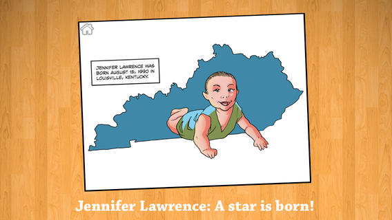 Fame: Jennifer Lawrence Comic