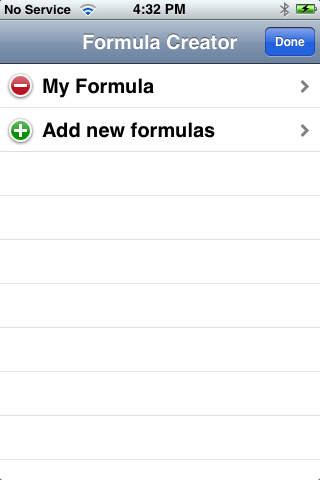 Formula Creator