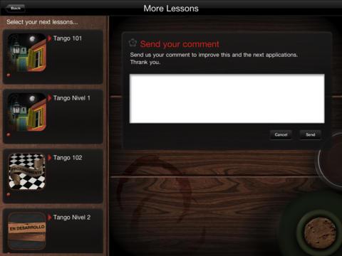 Argentine Tango Lessons 101 iPad Screenshot 4
