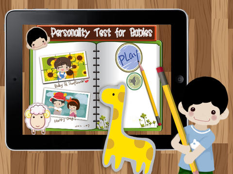 Personality Test for Babies HD