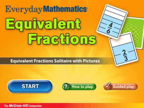 Everyday Mathematics Equivalent Fractions screenshot 6