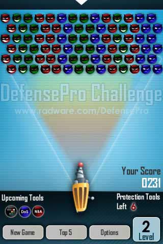 DefensePro Challenge iPhone Screenshot 4