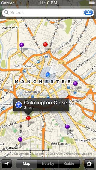 Smart Maps - Manchester