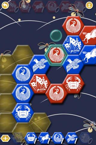 Hanto: Free Amazing Hex Board Game iPhone Screenshot 4