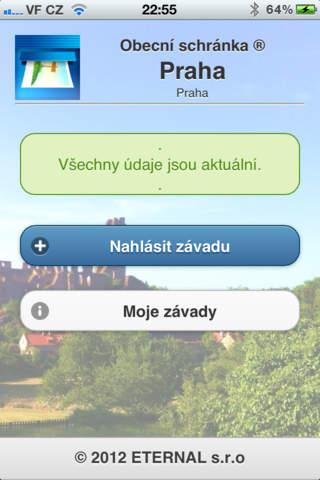 Obecní schránka screenshot 2