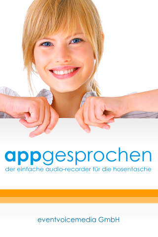 AppGesprochen - Audio Recorder
